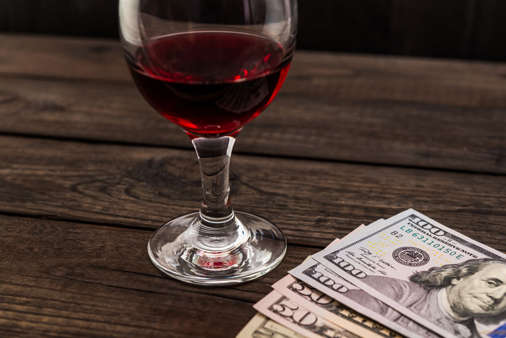 Wine Paired Money