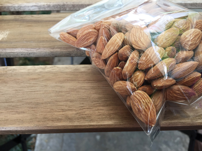 Bagged Almonds